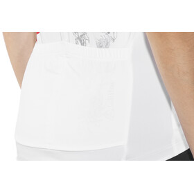 Löffler Flow Bike Jersey Shortsleeve Women white/black